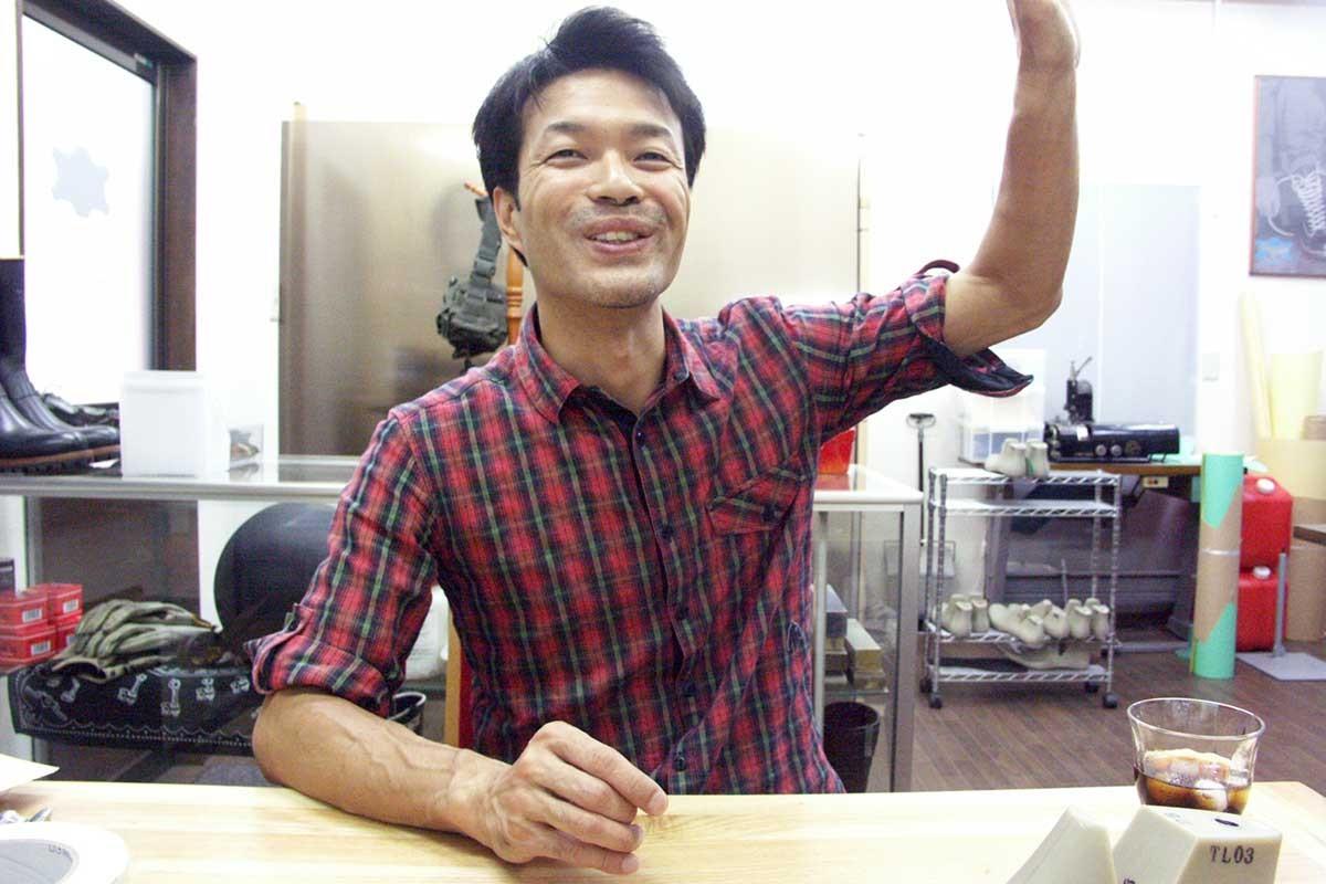 ブーツ工房Tong Liao(トンリョウ) 代表 安達秀人